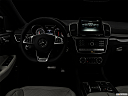 "2019 Mercedes-Benz GLE-Class Coupe AMG GLE 63 S, centered wide dash shot - ""night"" shot."