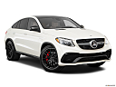 2019 Mercedes-Benz GLE-Class Coupe AMG GLE 63 S, front passenger 3/4 w/ wheels turned.