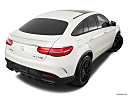 2019 Mercedes-Benz GLE-Class Coupe AMG GLE 63 S, rear 3/4 angle view.