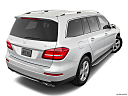 2019 Mercedes-Benz GLS-Class GLS 450 4MATIC, rear 3/4 angle view.