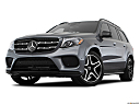 2019 Mercedes-Benz GLS-Class GLS550 4Matic, front angle view, low wide perspective.