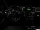 "2019 Mercedes-Benz GLS-Class GLS550 4Matic, centered wide dash shot - ""night"" shot."