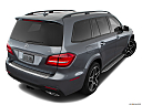 2019 Mercedes-Benz GLS-Class GLS550 4Matic, rear 3/4 angle view.