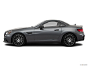 2019 Mercedes-Benz SLC-class SLC43 AMG, drivers side profile, convertible top up (convertibles only).