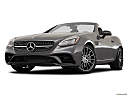 2019 Mercedes-Benz SLC-class SLC43 AMG, front angle view, low wide perspective.