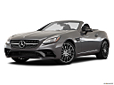 2019 Mercedes-Benz SLC-class SLC43 AMG, front angle medium view.