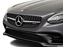 2019 Mercedes-Benz SLC-class SLC43 AMG, close up of grill.