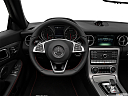 2019 Mercedes-Benz SLC-class SLC43 AMG, steering wheel/center console.