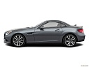 2019 Mercedes-Benz SLC-class SLC300, drivers side profile, convertible top up (convertibles only).