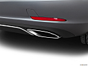 2019 Mercedes-Benz SLC-class SLC300, chrome tip exhaust pipe.