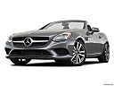 2019 Mercedes-Benz SLC-class SLC300, front angle view, low wide perspective.