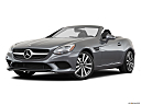 2019 Mercedes-Benz SLC-class SLC300, front angle medium view.