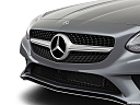 2019 Mercedes-Benz SLC-class SLC300, close up of grill.