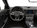 2019 Mercedes-Benz SLC-class SLC300, steering wheel/center console.