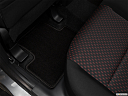 2019 Mitsubishi Outlander Sport ES 2.0, rear driver's side floor mat. mid-seat level from outside looking in.