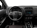 2019 Mitsubishi Outlander Sport ES 2.0, steering wheel/center console.