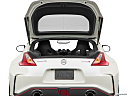 2019 Nissan 370Z Nismo, trunk open.