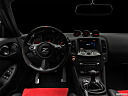 "2019 Nissan 370Z Nismo, centered wide dash shot - ""night"" shot."