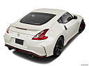 2019 Nissan 370Z Nismo, rear 3/4 angle view.