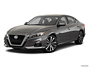 2019 Nissan Altima 2.5 Platinum, front angle medium view.
