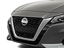 2019 Nissan Altima 2.5 Platinum, close up of grill.