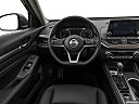 2019 Nissan Altima 2.5 Platinum, steering wheel/center console.
