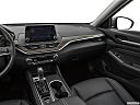 2019 Nissan Altima 2.5 Platinum, center console/passenger side.