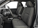 2019 Nissan Frontier SV, front seats from drivers side.