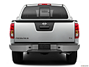 2019 Nissan Frontier SV, low/wide rear.