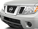 2019 Nissan Frontier SV, close up of grill.
