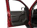 2019 Nissan Frontier SV 4-Cylinder, inside of driver's side open door, window open.