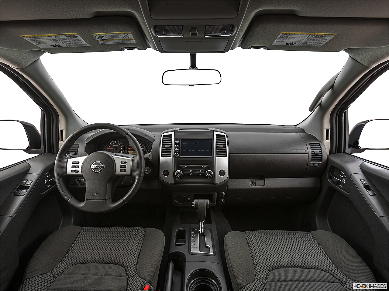 2019 Nissan Frontier SV 4-Cylinder, centered wide dash shot