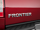 2019 Nissan Frontier SV 4-Cylinder, rear model badge/emblem