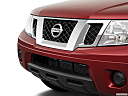 2019 Nissan Frontier SV 4-Cylinder, close up of grill.