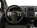 2019 Nissan Frontier SV 4-Cylinder, steering wheel/center console.