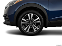 2019 Nissan Kicks SV, front drivers side wheel at profile.