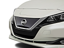 2019 Nissan LEAF SL, close up of grill.
