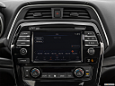 2019 Nissan Maxima Platinum, closeup of radio head unit