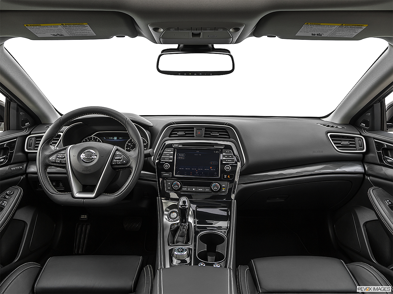 2019 Nissan Maxima Platinum, centered wide dash shot