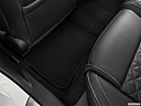 2019 Nissan Maxima Platinum, rear driver's side floor mat. mid-seat level from outside looking in.