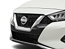 2019 Nissan Maxima Platinum, close up of grill.