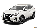 2019 Nissan Murano Platinum, front angle view.