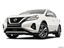 2019 Nissan Murano Platinum, front angle view, low wide perspective.