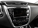 2019 Nissan Murano Platinum, driver position view of navigation system.