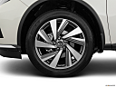 2019 Nissan Murano SL, front drivers side wheel at profile.