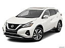 2019 Nissan Murano SL, front angle view.