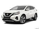 2019 Nissan Murano SL, front angle medium view.