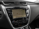 2019 Nissan Murano SL, driver position view of navigation system.