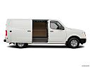 2019 Nissan NV2500 HD Cargo SV V6, passenger's side view, sliding door open (vans only).