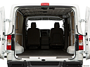 2019 Nissan NV2500 HD Cargo SV V6, trunk open.
